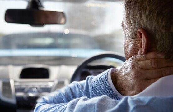 Neck Pain while Driving