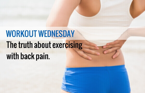 Back Pain from Exercising