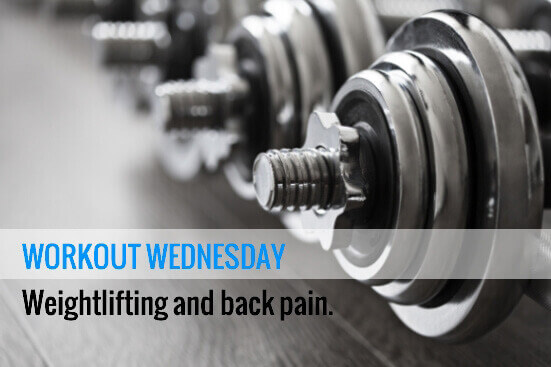 Back Pain and Lifting Weights