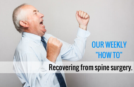 Spine Surgery Recovery for Elderly