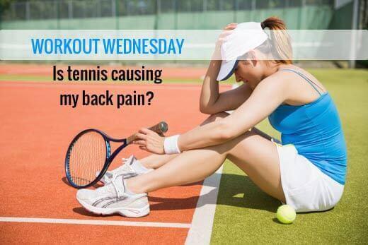 Back and Neck Pain from Tennis