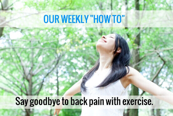 Exercise Away Back Pain