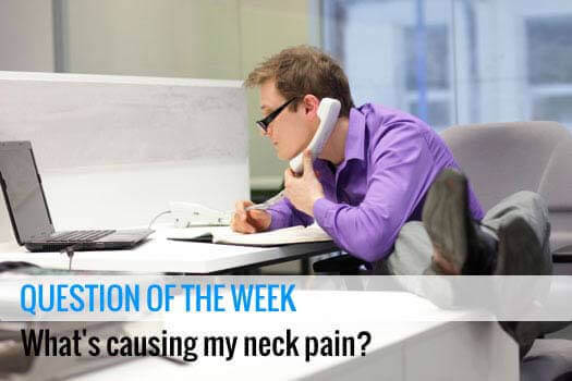Causes of Neck Pain Santa Monica, CA