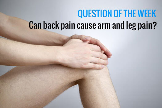 Leg Pain From Back Pain