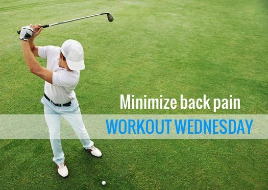 Golf Techniques Reduce Back Pain