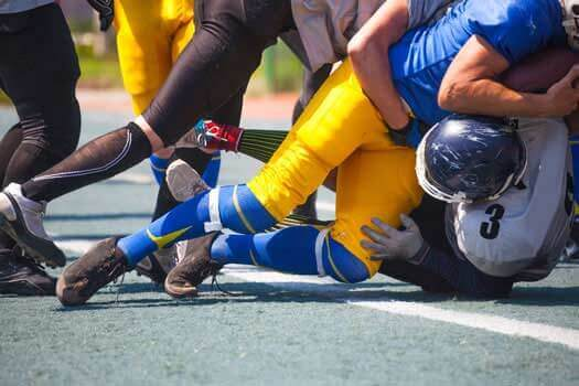 Avoid Spineal Injuries While Playing Football