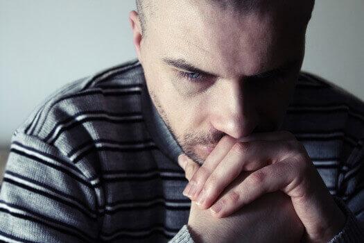 Chronic Back Pain Stressed