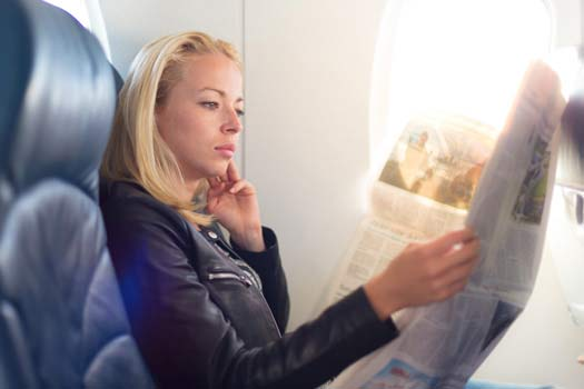 Avoid Back and Neck Pain on Your Next Airplane Trip