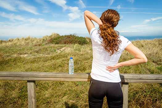 Lessen Back Pain During a Marathon Training in Sata Monica, CA