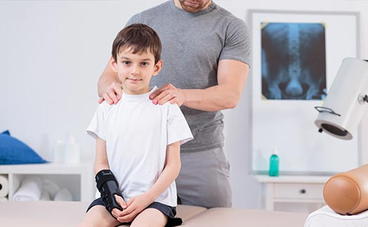 Spine Injury Common in Kids in Los Angeles, CA