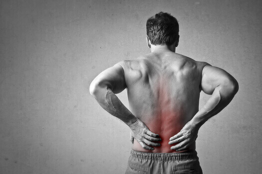 what does it mean when your back burns