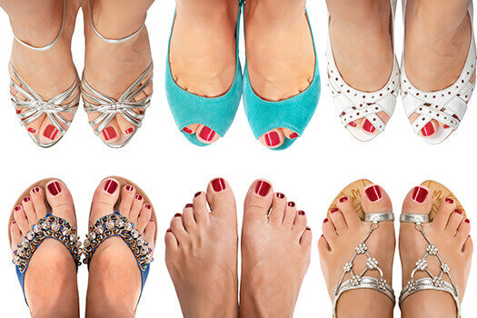 Flat Shoes May Cause Spine Pain in Los Angeles, CA