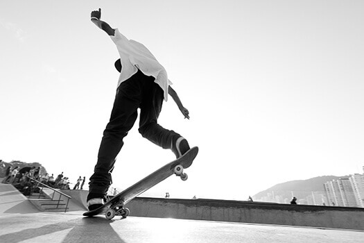 Lower Back Injuries Caused by Skateboarding