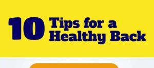 10 Tips to Help You Maintain a Healthy Back