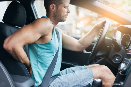 How to Avoid Back Pain While You Drive in Los Angeles, CA