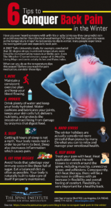 6 Ways to Alleviate Back Pain in the Winter Months [Infographic]