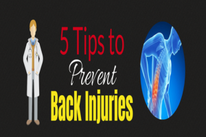 5 Tips to Prevent Back Injuries [Infographic]