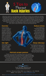 5 Ways to Avoid Injuring Your Back [Infographic]